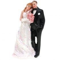 Figurka na tort Panna Młoda i Pan Młody 13cm