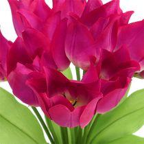 Tulipan krzew różowy L 30cm