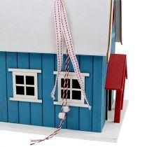 Domek dla ptaków, Deco House Blue 21cm x 30cm