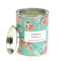 Świeca zapachowa Vanilla w pudełku Flower Box Ø6,5cm