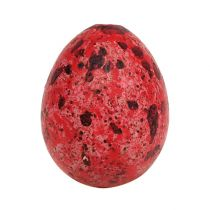 Jajko przepiórcze czerwone 3cm 60p