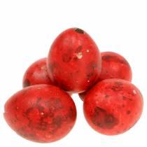 Jaja przepiórcze czerwone wydmuchiwane 50szt