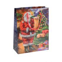 Torba papierowa Santa 11cm x 13,5cm