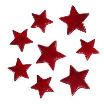 Poinsecja mix 4-5cm czerwona błyszcząca 72szt.