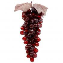 Sztuczne winogrona Bordowe 25cm