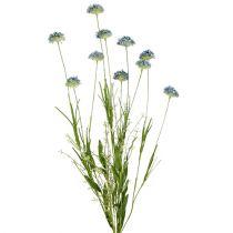 Kwiaty łąkowe niebieskie L65cm 3szt.