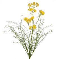 Kwiaty łąkowe żółte L60cm 3szt.