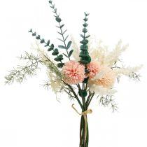 Łąka bukiet kwiatów sztuczny bukiet jedwabne kwiaty H42cm