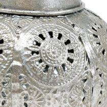 Wiatrowa lampa wisząca srebrna Ø12.5cm H10cm