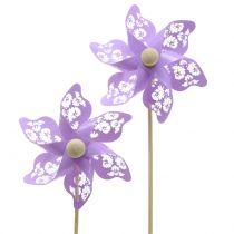 Wiatraczek Mini fioletowy Ø9cm 12szt.