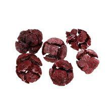 Szyszki cyprysowe 3cm Ciemnoczerwone 500g