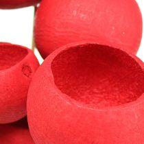 Kubek na patyku Mix Czerwony 15szt
