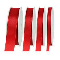 Wstążka dekoracyjna czerwona 50m