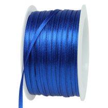 Wstążka prezentowa niebieska 3mm 50m