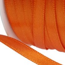 Wstążka prezentowa i dekoracyjna 6mm x 50m Pomarańczowa