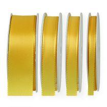 Wstążka prezentowa i dekoracyjna 50m Żółta