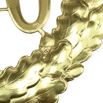 Rocznica numer 70 w kolorze złotym Ø40cm