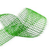 Wstążka jutowa zielona 5cm 40m