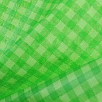 Papier mankietowy 37,5cm 100m majowa zielona kratka