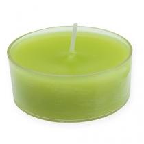 Maxi lampki zielone Ø5,7cm 4szt.
