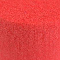 Cylinder z masą korkową Ø8cm Czerwony 6szt.