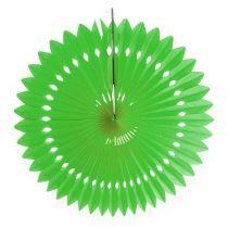Papier o strukturze plastra miodu kwiat zielony Ø40cm 4szt