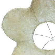 Mankiet sizalowy bielony Ø25cm 6szt