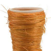 Wazon spiczasty Sizal Pomarańczowy Ø4,5cm D60cm 5szt