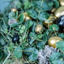 Jajko Przepiórcze Dekoracyjne Czarne Puste 3cm Wiosenne Dekoracyjne Naturalne 50szt