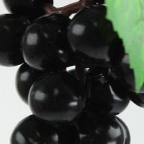Sztuczne Mini Winogrona Czarne 9cm