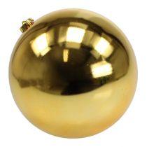 Christmas Ball Plastic Large Gold Ø25cm