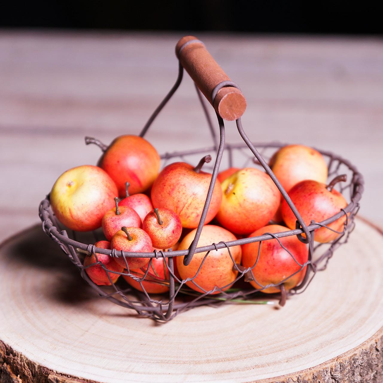 Jabłka dekoracyjne Cox 4cm 24szt.