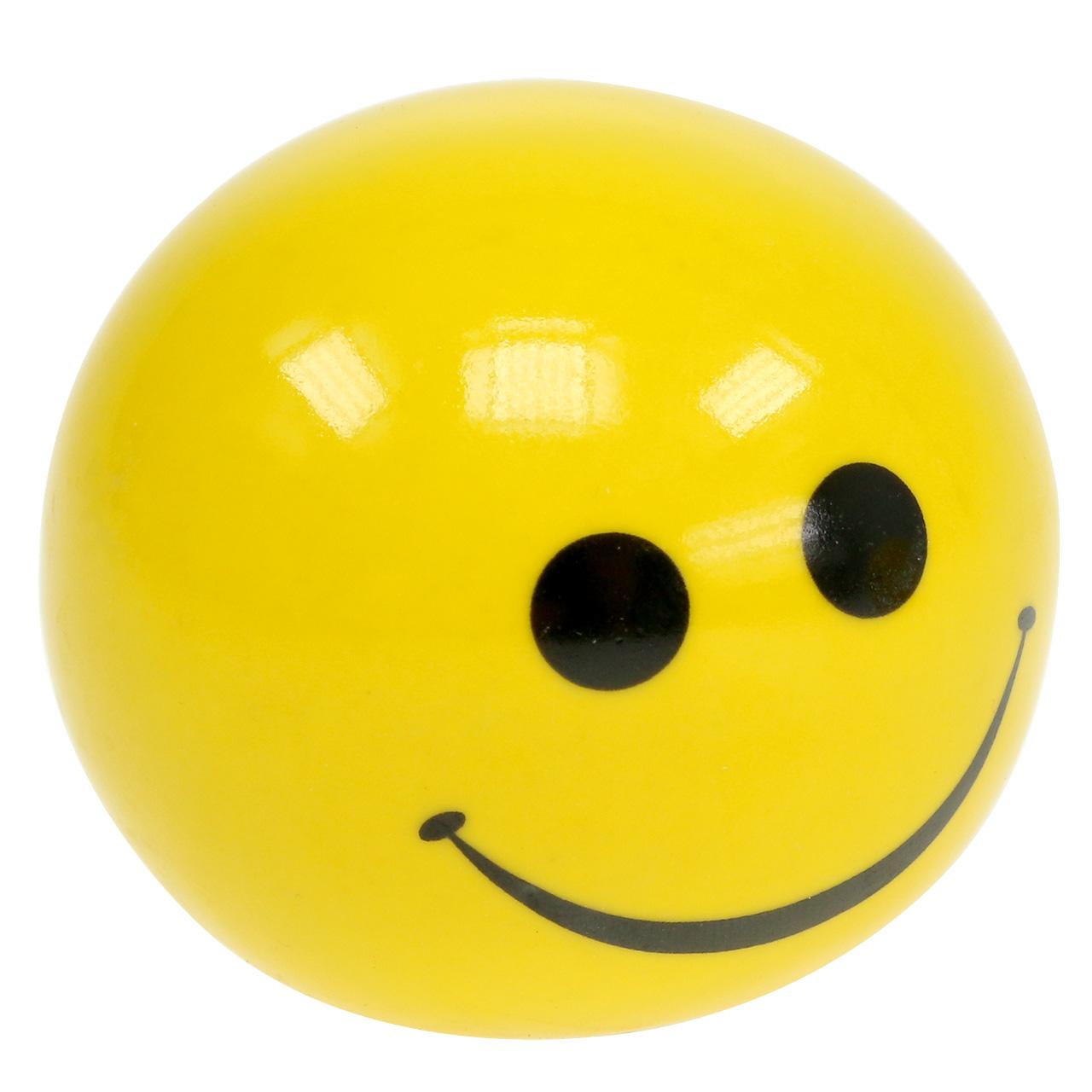 Kula ceramiczna z smeili żółta Ø5cm H4,5cm 6szt.
