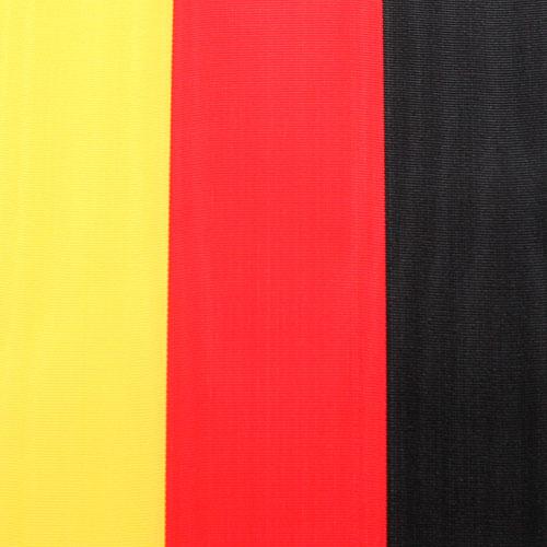 Wstążki wieńcowe czarno-czerwono-złote Moiré