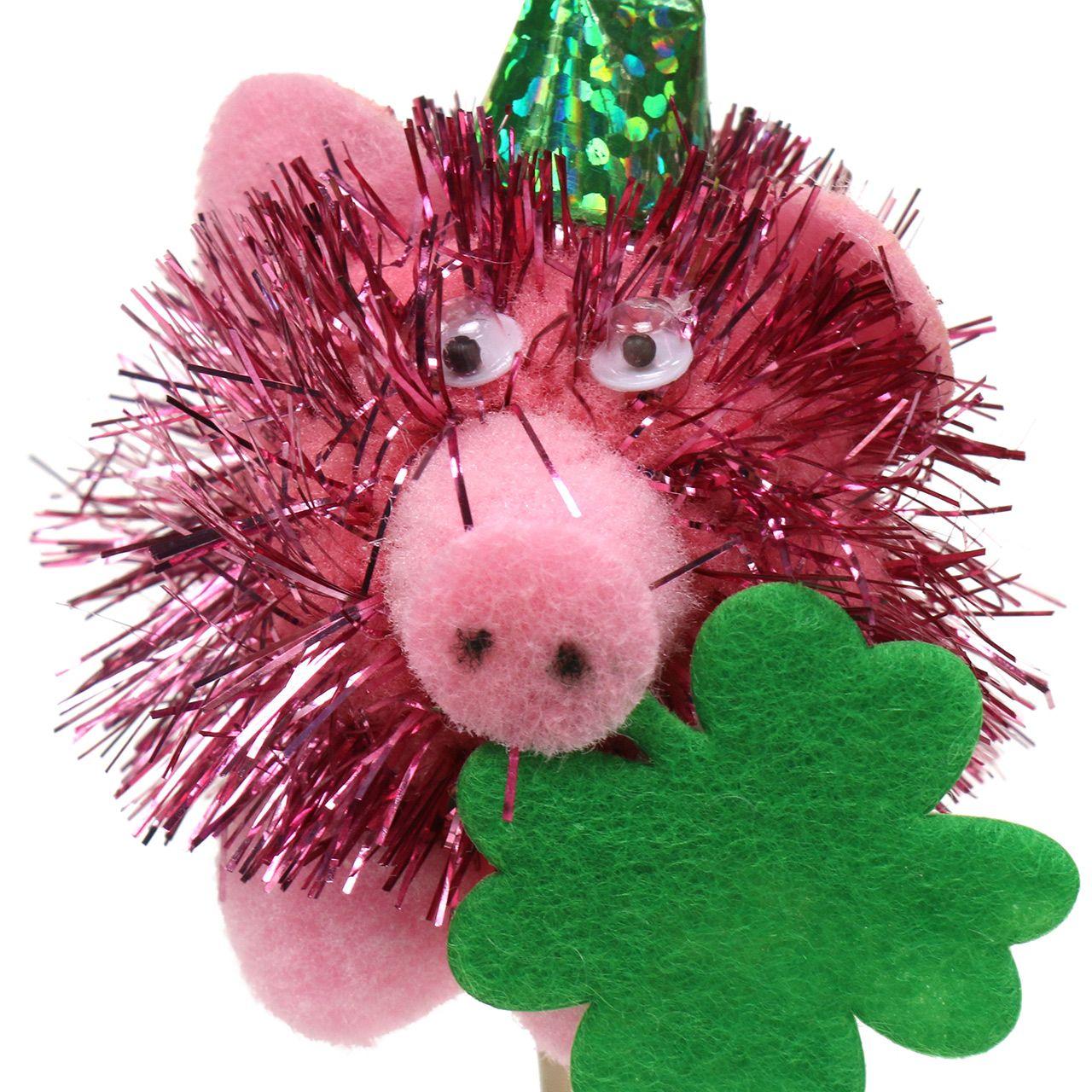 Korek dekoracyjny szczęśliwa świnia 8szt.