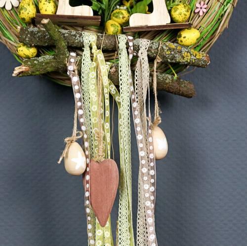 Jajka Przepiórcze Różowe 3,5-4cm Dmuchane Jajka Wielkanocne Dekoracje 50szt