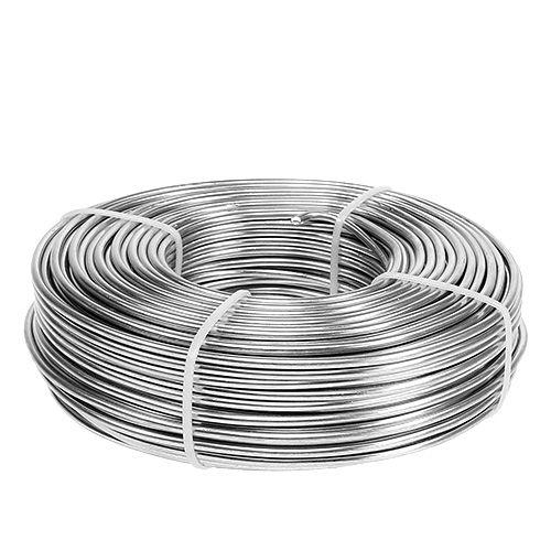 Drut aluminiowy 3mm 1kg srebrny