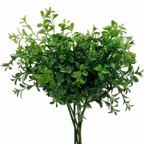 Gałązki skrzynkowe Bukszpan w Pick Sztuczna zielona roślina 6szt