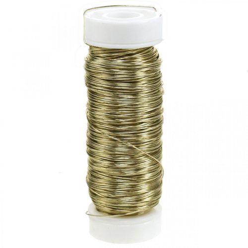 Deco Drut Emaliowany Ø0,30mm 30g/50m Złoty