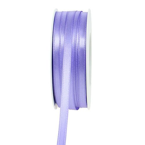 Wstążka dekoracyjna jasnofioletowa 6mm 50m