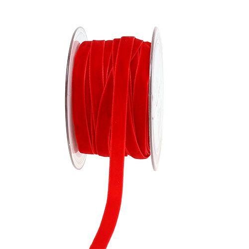 Wstążki dekoracyjne Velvet Red 10mm 20m