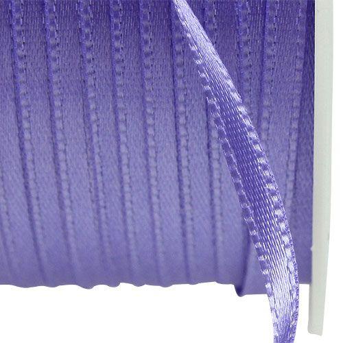 Wstążka do prezentów i dekoracji 3mm x 50m fioletowa