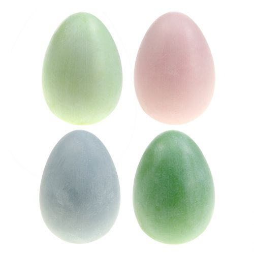 Zestaw pisanek pastelowe kolory wys. 10cm 8szt