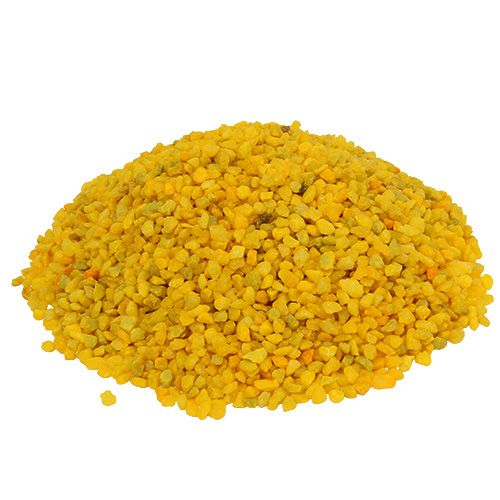 Dekogranulat żółty 2mm - 3mm 2kg