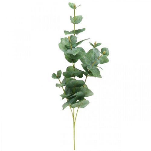 Gałązka Eukaliptusa Sztuczna Zielona Roślina Eukaliptus Deco 75cm