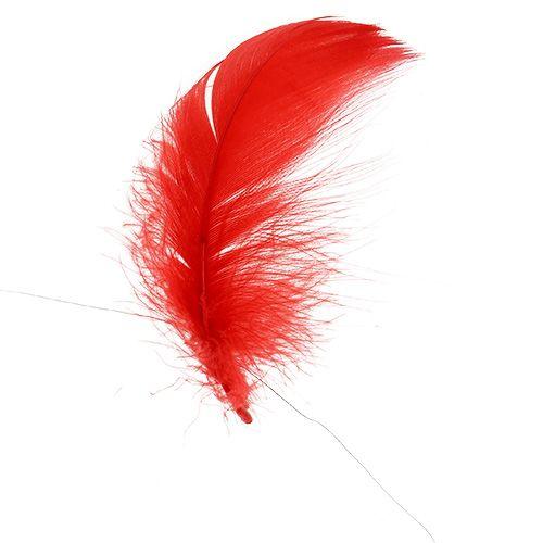 Sprężyna na przewodzie czerwonym 10m