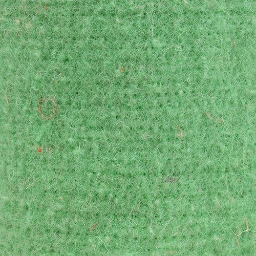 Taśma filcowa doniczkowa jasnozielona 15cm 5m