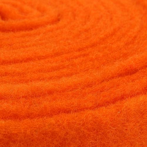 Taśma filcowa pomarańczowa 7,5cm 5m
