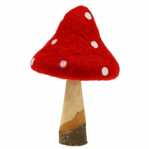 Toadstool jesienna dekoracja Red H27cm