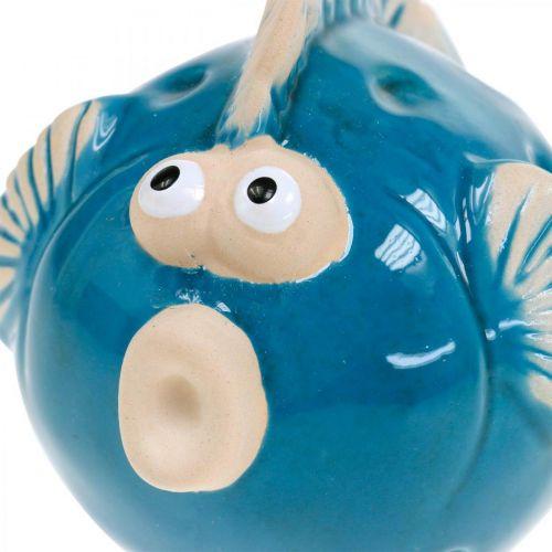 Ryby ceramiczne, morskie, Deco Fish Blue L11,5 4szt.